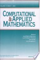 2002 - Vol. 21,Nº 1